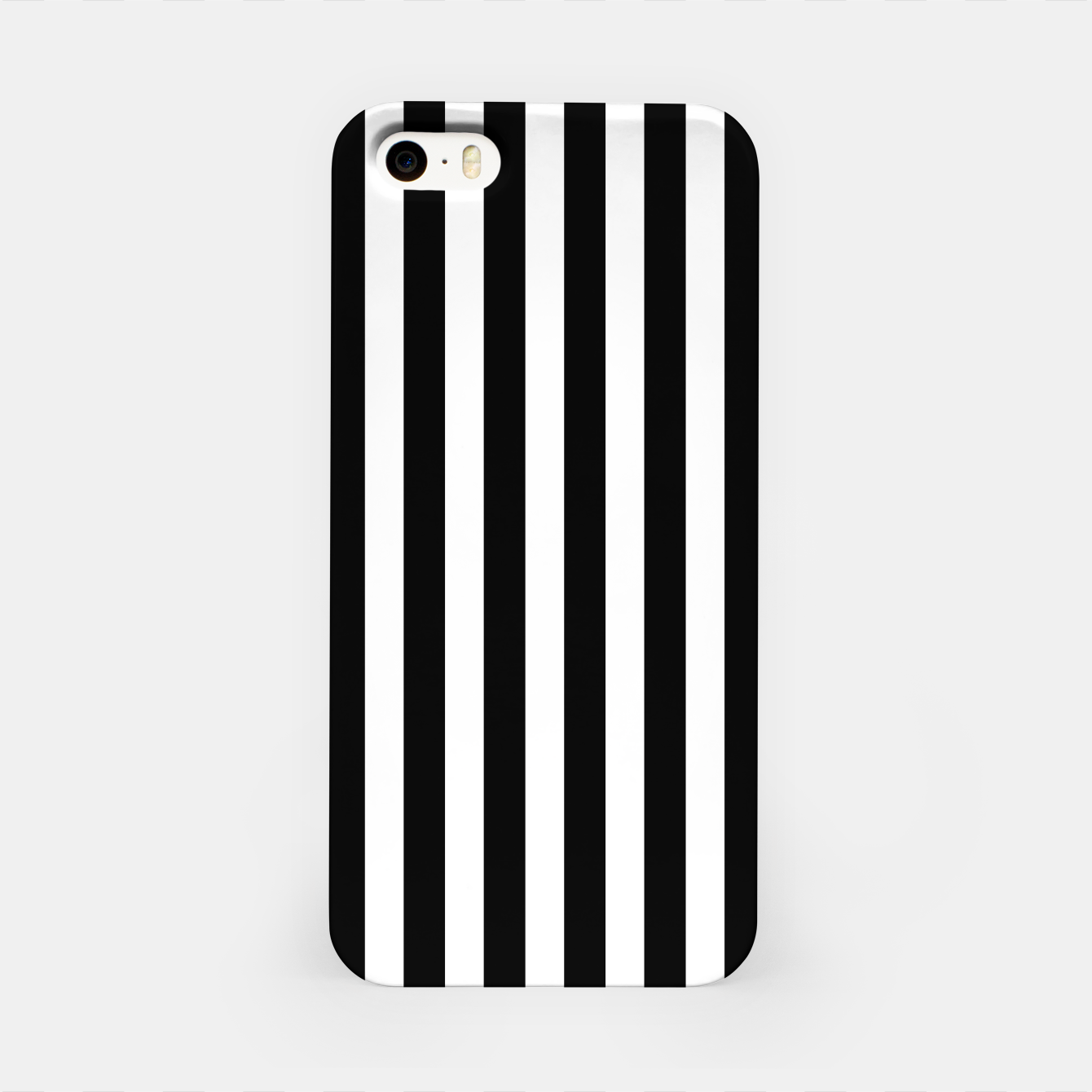 Imagen de Classic Black and White Football Referee Stripes  iPhone Case - Live Heroes