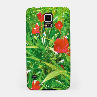 Imagen en miniatura de Flowers and Green Plants at Outdoor Garden Samsung Case, Live Heroes