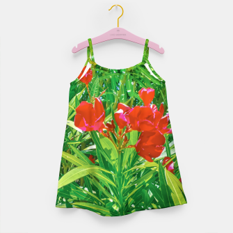 Imagen en miniatura de Flowers and Green Plants at Outdoor Garden Girl's dress, Live Heroes