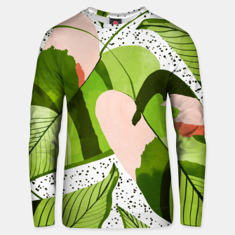 Miniaturka Blushing Leaves Unisex sweater, Live Heroes
