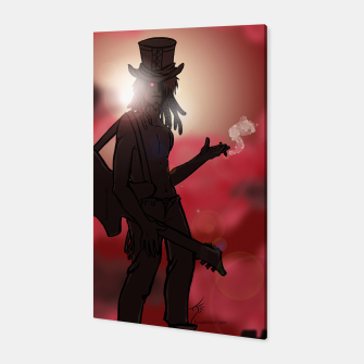 Thumbnail image of Red Guitar Canvas, Live Heroes