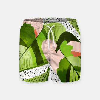 Miniaturka Blushing Leaves Swim Shorts, Live Heroes