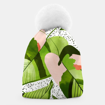 Thumbnail image of Blushing Leaves Beanie, Live Heroes