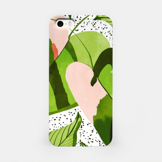 Thumbnail image of Blushing Leaves iPhone Case, Live Heroes