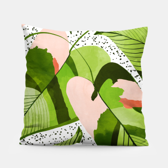 Miniaturka Blushing Leaves Pillow, Live Heroes