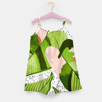 Miniaturka Blushing Leaves Girl's dress, Live Heroes
