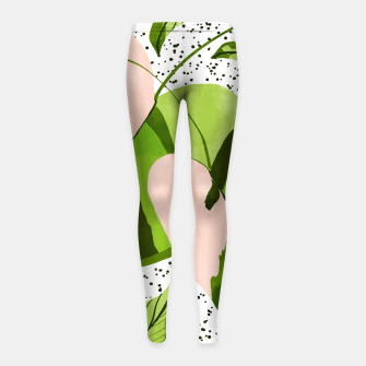Miniaturka Blushing Leaves Girl's leggings, Live Heroes