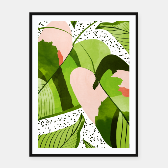 Thumbnail image of Blushing Leaves Framed poster, Live Heroes