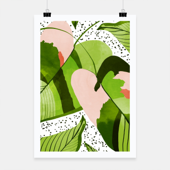 Thumbnail image of Blushing Leaves Poster, Live Heroes