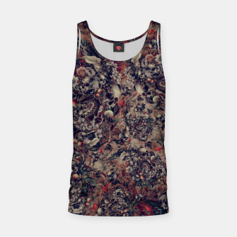Thumbnail image of Skull Storm III Tank Top, Live Heroes
