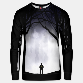 Thumbnail image of Dark Night Unisex sweater, Live Heroes