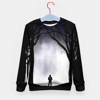 Thumbnail image of Dark Night Kid's sweater, Live Heroes