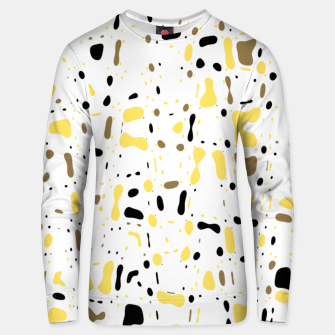 Miniature de image de Coffee spots, simple abstract illustration in delicate colors Unisex sweater, Live Heroes