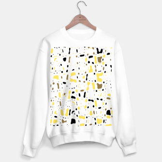 Miniature de image de Coffee spots, simple abstract illustration in delicate colors Sweater regular, Live Heroes