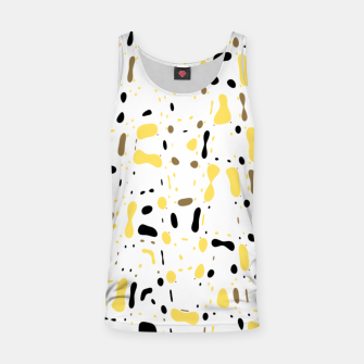 Miniatur Coffee spots, simple abstract illustration in delicate colors Tank Top, Live Heroes