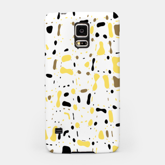 Miniatur Coffee spots, simple abstract illustration in delicate colors Samsung Case, Live Heroes