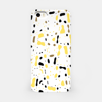 Miniature de image de Coffee spots, simple abstract illustration in delicate colors iPhone Case, Live Heroes