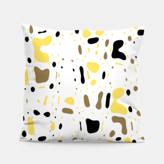Miniature de image de Coffee spots, simple abstract illustration in delicate colors Pillow, Live Heroes