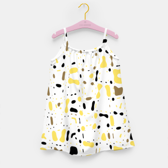 Miniature de image de Coffee spots, simple abstract illustration in delicate colors Girl's dress, Live Heroes