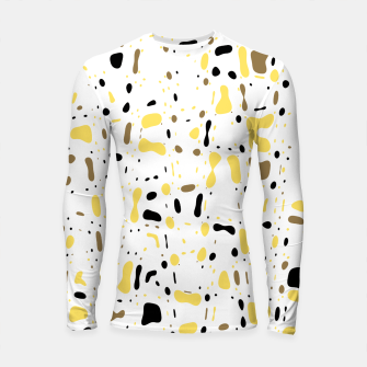 Miniature de image de Coffee spots, simple abstract illustration in delicate colors Longsleeve rashguard , Live Heroes