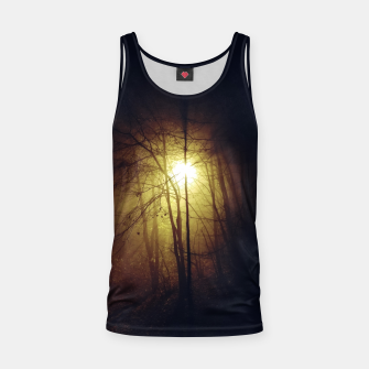 Thumbnail image of fog among the trees Tank Top, Live Heroes