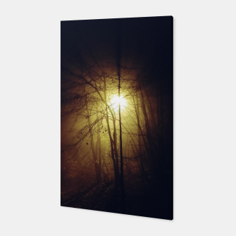 Thumbnail image of fog among the trees Canvas, Live Heroes