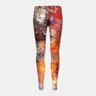 Thumbnail image of Workhorse Girl's leggings, Live Heroes