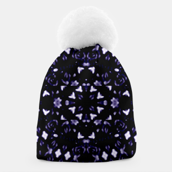 Thumbnail image of Dark Violet Ornament Pattern Design Beanie, Live Heroes