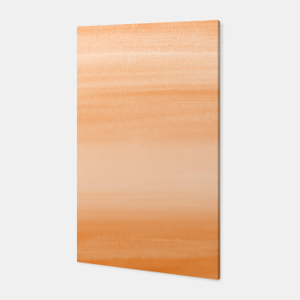 Miniatur Touching Orange Watercolor Abstract #2 #painting #decor #art  Canvas, Live Heroes