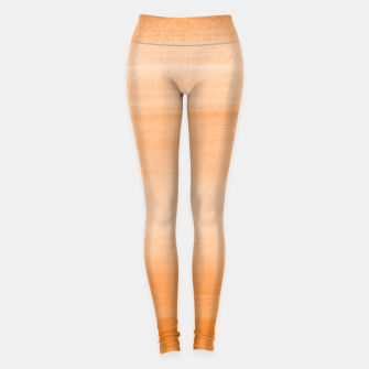 Miniatur Touching Orange Watercolor Abstract #2 #painting #decor #art  Leggings, Live Heroes
