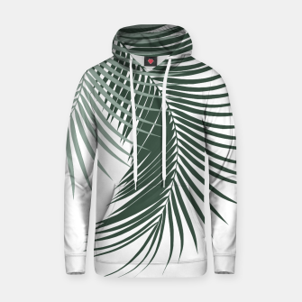 Thumbnail image of Palm Leaves Soft & Dark Green Vibes #1 #tropical #decor #art  Kapuzenpullover, Live Heroes