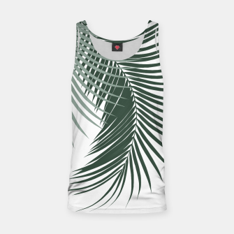 Thumbnail image of Palm Leaves Soft & Dark Green Vibes #1 #tropical #decor #art  Muskelshirt , Live Heroes