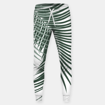 Miniaturka Palm Leaves Soft & Dark Green Vibes #1 #tropical #decor #art  Hosen, Live Heroes