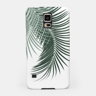 Thumbnail image of Palm Leaves Soft & Dark Green Vibes #1 #tropical #decor #art  Handyhülle für Samsung, Live Heroes