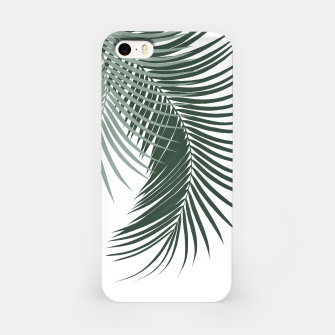 Miniaturka Palm Leaves Soft & Dark Green Vibes #1 #tropical #decor #art  iPhone-Hülle, Live Heroes