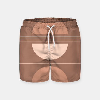 Miniaturka Sunrise Sunset Abstract Shapes #1 #minimal #decor #art Badeshorts, Live Heroes