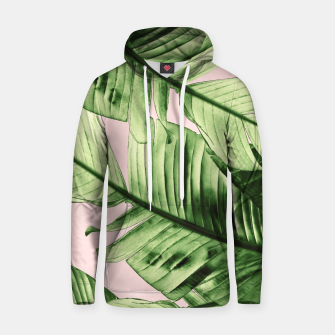 Miniaturka Tropical Blush Banana Leaves Dream #6 #decor #art Kapuzenpullover, Live Heroes