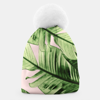 Miniaturka Tropical Blush Banana Leaves Dream #6 #decor #art Mütze, Live Heroes
