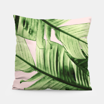 Miniaturka Tropical Blush Banana Leaves Dream #6 #decor #art Kissen, Live Heroes