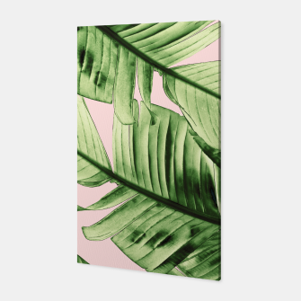 Miniaturka Tropical Blush Banana Leaves Dream #6 #decor #art Canvas, Live Heroes