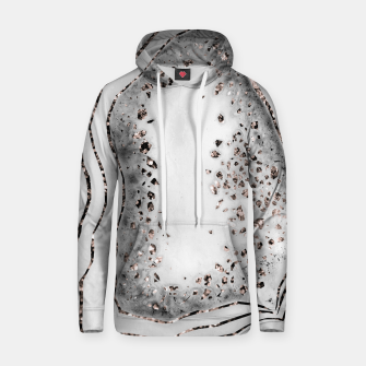 Miniatur Agate Rose Gold Glitter Glam Night #2 #gem #decor #art  Kapuzenpullover, Live Heroes