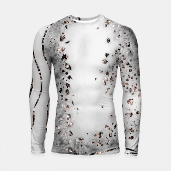 Miniatur Agate Rose Gold Glitter Glam Night #2 #gem #decor #art  Longsleeve rashguard, Live Heroes