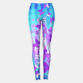 Thumbnail image of Butterfly shimmer leggings, Live Heroes
