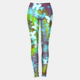 Thumbnail image of Butterfly galaxy leggings, Live Heroes