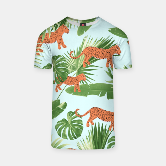 Imagen en miniatura de Leopard Jungle Dream Pattern #1 (Kids Collection) #decor #art T-Shirt, Live Heroes