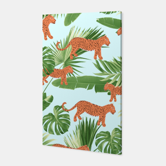 Imagen en miniatura de Leopard Jungle Dream Pattern #1 (Kids Collection) #decor #art Canvas, Live Heroes