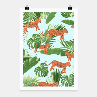 Imagen en miniatura de Leopard Jungle Dream Pattern #1 (Kids Collection) #decor #art Plakat, Live Heroes