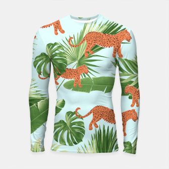 Imagen en miniatura de Leopard Jungle Dream Pattern #1 (Kids Collection) #decor #art Longsleeve rashguard, Live Heroes