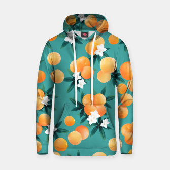 Imagen en miniatura de Orange Twist Flower Vibes #8 #tropical #fruit #decor #art Kapuzenpullover, Live Heroes