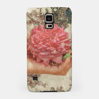 Miniaturka Beauty Concept Photo Collage Illustration Samsung Case, Live Heroes